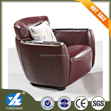 No Inflatable modern appearance leather sofa
