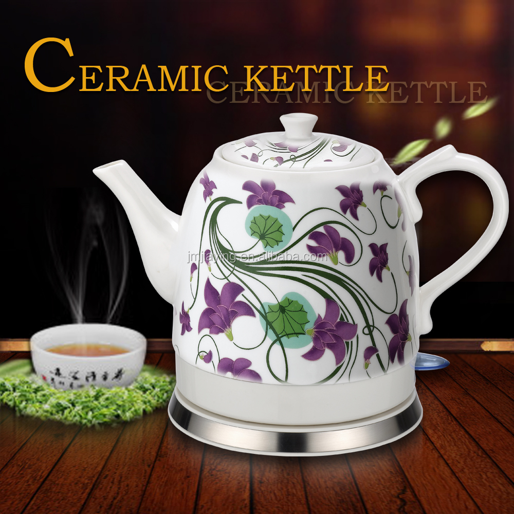 Popular 1.2L Electric Porcelain Kettle