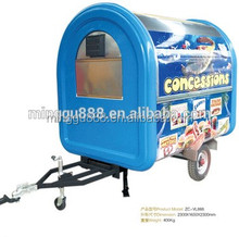 High quality china supplier mobile food cart design Van for sale(CE) used food trucks for sale in germany/mobile food trucks