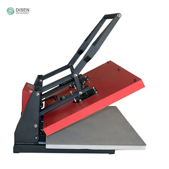 Manual high pressure 60x80cm garment t shirt leather fabric stone press machine
