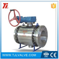 API forged trunnion mounted ball valve