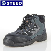 Premium suede leather upper PU injection outsole safety man footwear