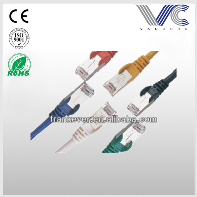 SFTP Cat5E/Cat6 4P4C moulded patch cord/network cable