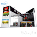 Detian Offer 6x6m new design special standard exhibition booth design