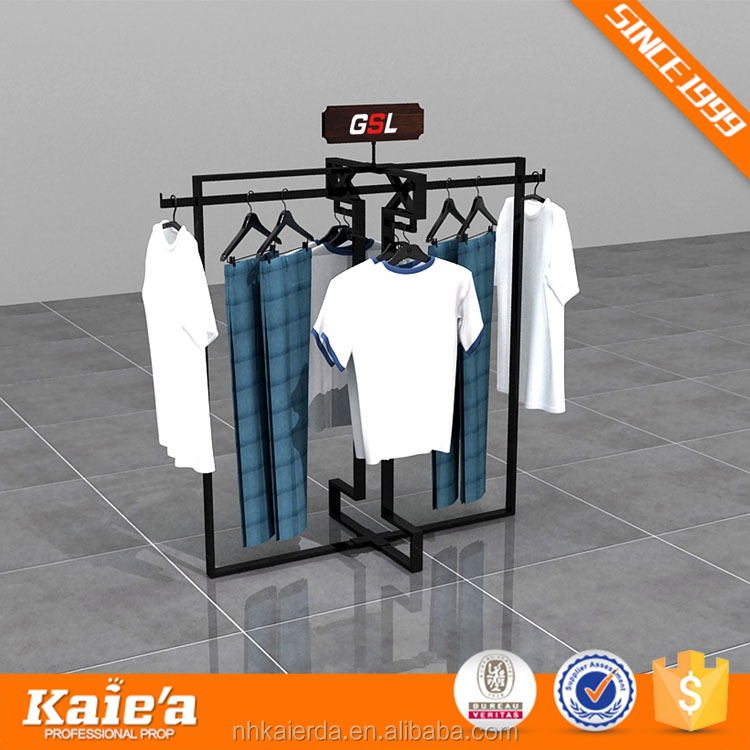 Garment Shop Metal Display Rack,Garment Display Rack,Garment Rack Display