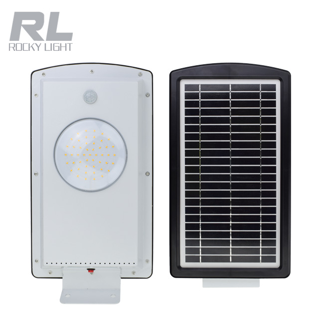 Household Garden integrated solar street light road lamp with human body induction sensor
