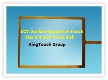 22 inch surface capacitive touch screen