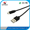 black high quality usb a c 2.8mm tpe data transfer cable