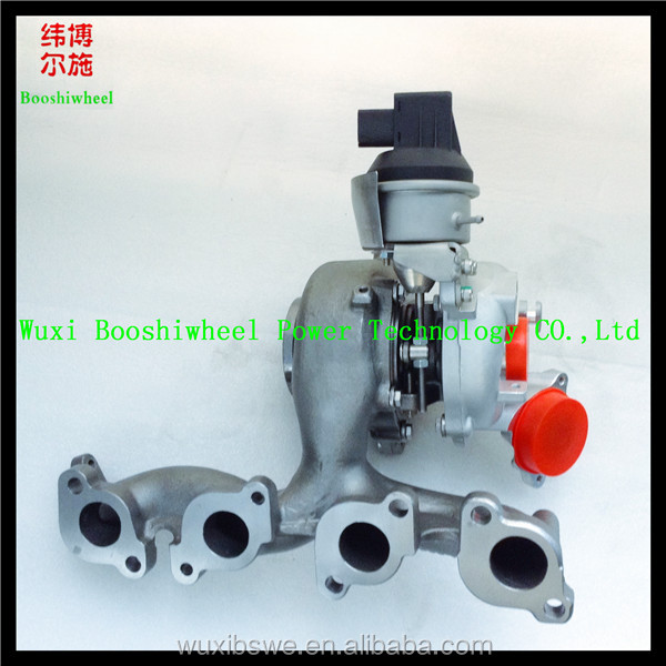 hot sale BV43 turbocharger 53039880205 53039700205 turbo charger for A3 2.0 TDI &VW GOLF &SKODA YETI 2.0TDI of wuxi booshiwheel