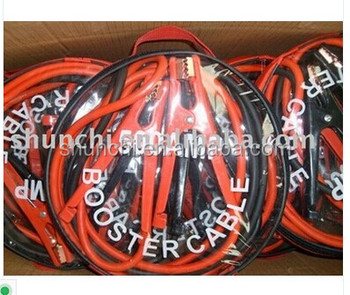 Booster cable battery cable