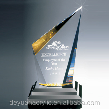 high quality acrylic tennis trophy and awards MH-NJ0275