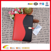 2016 Hot sale New Design Agenda Notebook With USB Flash Drive,Organizer Portfolio With portable power bank And Pen Holder