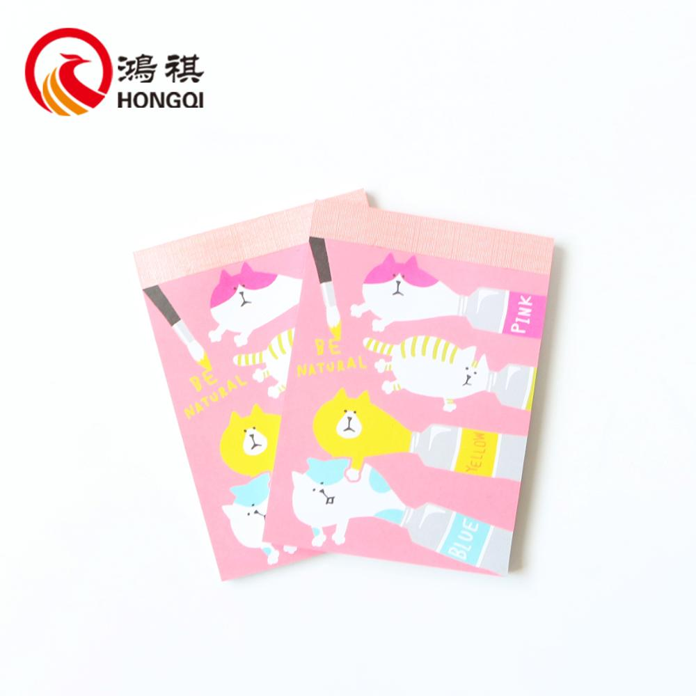 NP021 wholesale china notepads cute child 's book,notepad with calendar,notepad type notebook