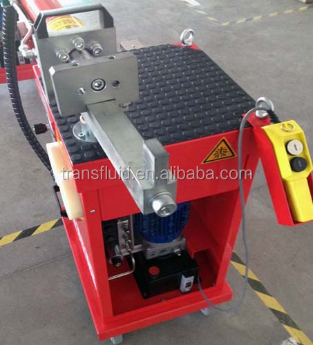 electric hydraulic pipe bending machine with Parker valve, fittings and Bucher hydraulic pump, top quality