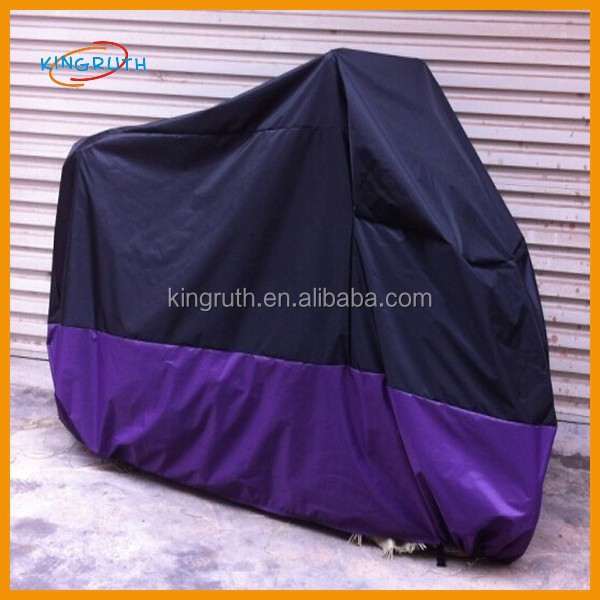 170T/ 190T fabric silver polyester inflatable motorcycle cover