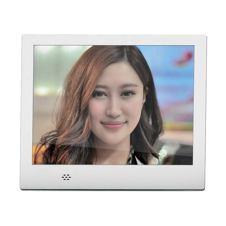 "8"" Small Size Autoplay Video And Music Digital Photo Frame With Memory"