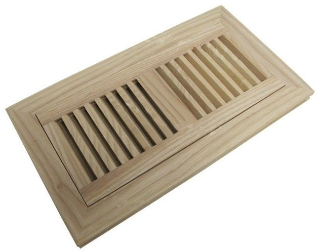 Custom made wooden vent finished/unfinished wooden floor air register wood flooring air vent