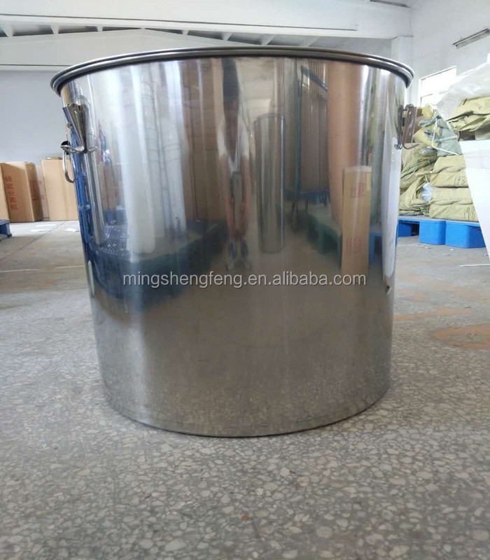 Honey harvest factory directly supplies stainless steel 2017 honey storage tank for bee products harvest