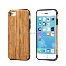 Wood Plastic 5.5 inch Mobile Phone Case Rock Phone Case
