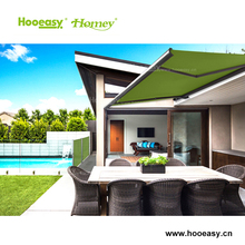 Homey excellent quality outdoor rain cover canopy window most popular full cassette for garden aluminum awning