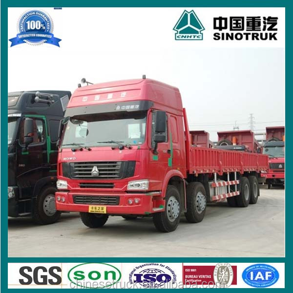 SINOTRUCK HOWO 8X4 Cargo truck chassis design