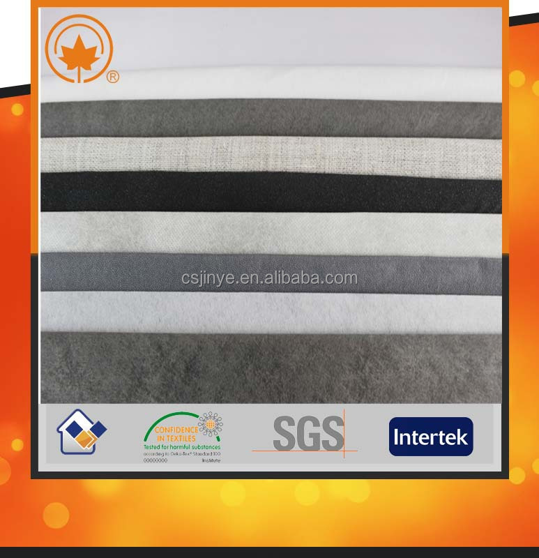 Cheap adhesive twill fabric for garment