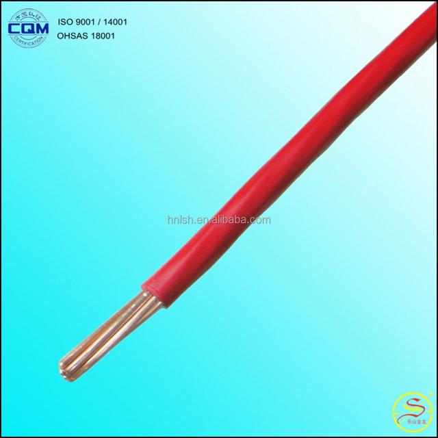 450/750V 16mm2 H07Z-U LSOH Electrical Wiring Types