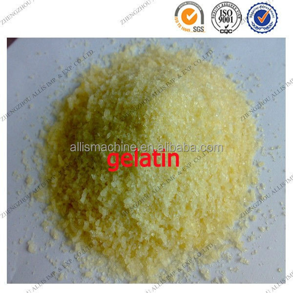 ISO/BV Wholesale Food Grade Edible Gelatin Powder for Ice Cream