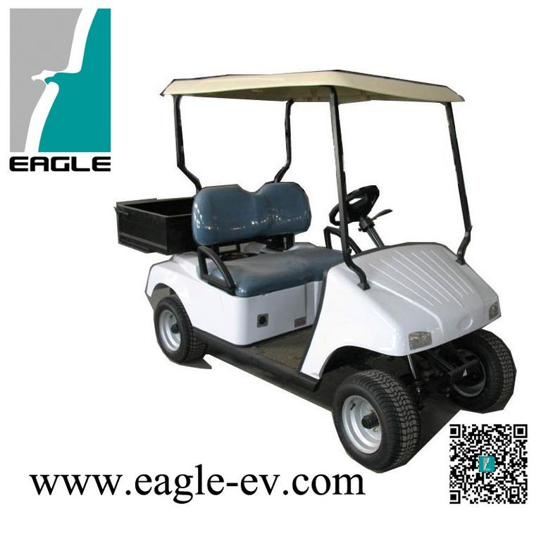 2 Seats Electric Golf Car with cargo box , EG2026H