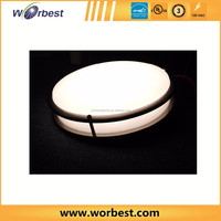 double ring design ceiling lamp 14' 25w 'dimmable ceiling mounted led light fixtures