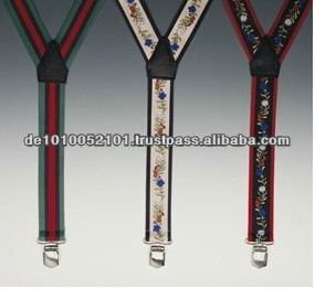 Good Quality Colorful Fashion Braces With Leather
