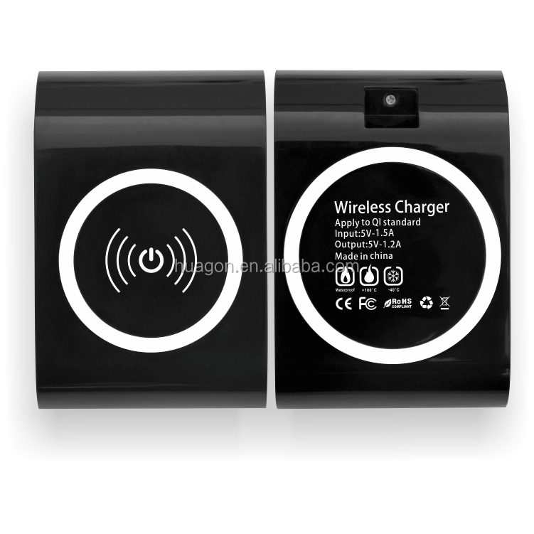 qi chargeurs de batterie sans circle compatible for samsung iphone and all android cellphone. Black Bedroom Furniture Sets. Home Design Ideas
