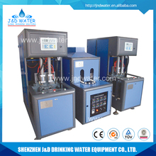 Low air compressor 8-10 bar semi-automatic small plastic blow molding machine