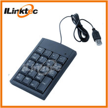 USB 19 Key Number Numeric Keypad