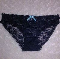 sexy women transparents black lace panty 755# 2015 new stylish