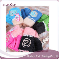 Ladies Cute Half Removable Finger Gloves