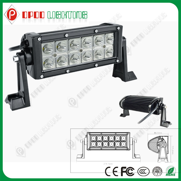 China High Quality 36W CREE 4x4 police off-road Led light bars
