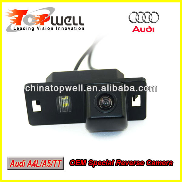 OEM Special Rear View Camera for 2009/2010/2011/2012 Audi A4L,TT,A5,Q5