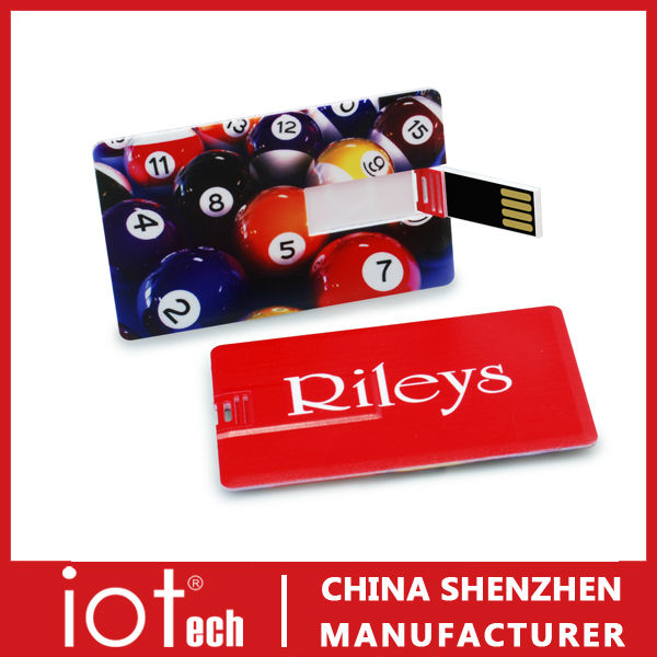 New Fashion Cool Business Card Promotional Gift Flash Memory Stick