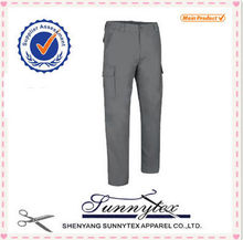 OEM plus size multi- pockets outdoor casual bib pants workwear
