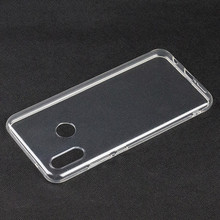 For Huawei P20 Lite Clear <strong>Case</strong>,Ultra Slim Soft TPU Back Cover for Huawei P20 Lite