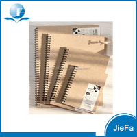 Wholesale Cheap Kraft Paper Blank Notebook