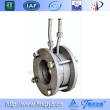 integral orifice plate flowmeter (throttling device)
