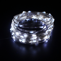 Holiday Decoration Waterproof Battery Operated Micro Led Fairylight/Led Copper Wire String Lig