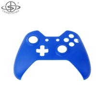 New Design Front Solid Blue Controller Shells for Xbox One
