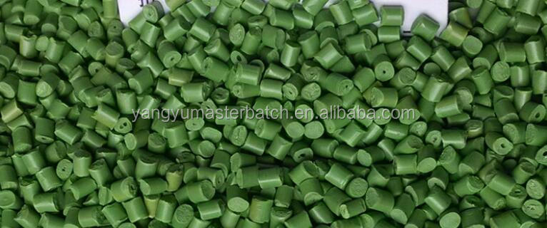 grass green color masterbatch good pigment color master batch