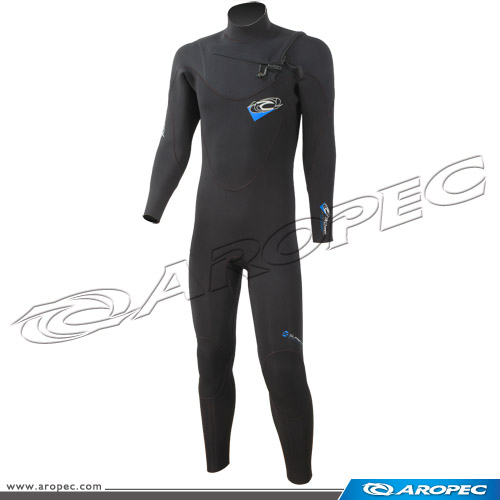 3/2mm Zipperless Fullsuit Surfing Neoprene Wetsuits for Men