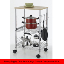 Kitchen Baker's Rack Microwave Oven Stand Storage Cart