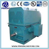 Hot Sale YKK series high voltage three phase squirrel cage rotor induction electric motor
