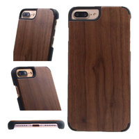 Original s8 phone case real wood design with bumper tpu back covers for samsung galaxy s8 plus wooden case S8/S8+